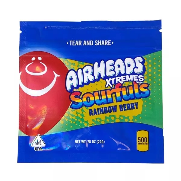 Airheads Xtremes 500mg THC