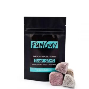 Funguy Assorted Sour Gems 4000Mg